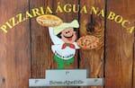 Logotipo Pizzaria Agua na Boca