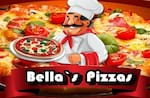 Logotipo Bella's Pizzas