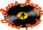 Logotipo Retrô Burger Food Truck