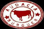 Logotipo Audácia Burguer e Porções