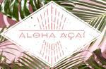 Logotipo Aloha Açai