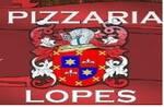 Logotipo Pizzaria Lopes