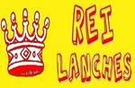 Logotipo Rei Lanches e Pizzaria