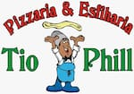 Logotipo Pizzaria e Esfiharia Tio Phill