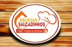 Logotipo Salgadinhos Delícia