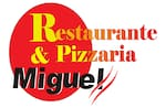Logotipo Pizzaria Miguel