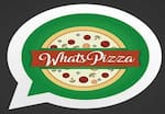Logotipo Whatspizza