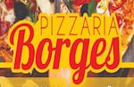 Logotipo Pizzaria Borges