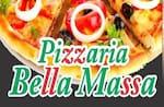 Logotipo Pizzaria Bella Massa