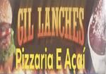 Logotipo Gil Lanches Pizzaria e Acai