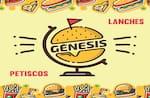 Logotipo Gênesis Lanches e Petiscos