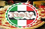 Logotipo Pizzaria Italy