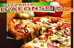 Logotipo Pizzaria D Afonso