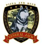 Logotipo Pizzas General Jack