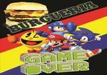Logotipo Burgueria Game Over