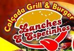 Logotipo Calçada Grill & Burger - Lanche e Espeto