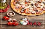 Logotipo Max Pizzaria