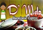 Logotipo D Melo Marmitaria Express