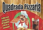 Logotipo Quadrada Pizzaria