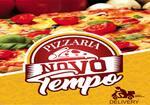 Logotipo Pizzaria Novo Tempo