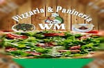 Logotipo Pizzaria e Panineria Wm