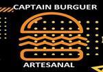 Logotipo Captain Burguer Artesanal