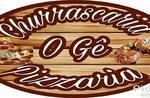 Logotipo O Gê - Pizzaria