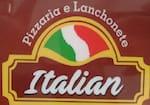 Logotipo Pizzaria e Lanchonete Italian