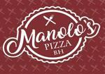 Logotipo Manolos Pizza