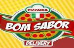 Logotipo Pizzaria Bom Sabor Delivery