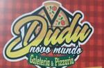 Logotipo Dudu Galeteria e Pizzaria Novo Mundo