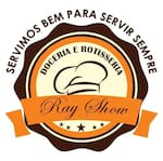 Logotipo Ray Show Marmitaria