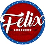 Logotipo Felix Sucos Burgers
