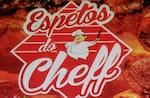 Logotipo Espetos do Cheff