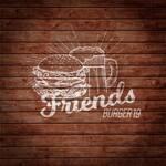 Logotipo Friends Burger 19