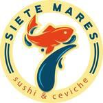 Logotipo Siete Mares Sushi y Ceviche