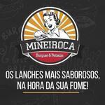 Logotipo Mineiroca Burguer & Petiscos