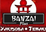 Logotipo Banzai Yakissoba Temaki e Frango Assado