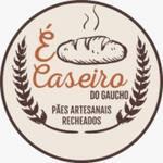 Logotipo Caseiro do Gaucho Paes & Pizzas Artesan