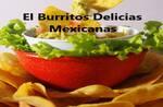 Logotipo El Burritos Delicias Mexicanas