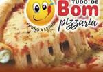 Logotipo Pizzaria Tudo de Bom