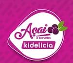 Logotipo Açaí e Sorvetes Kidelicia
