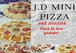 Logotipo J.d Mini Pizza Pré Assada