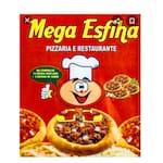 Logotipo Mega Esfiha e Pizzaria