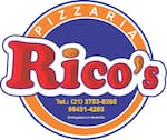 Logotipo Pizzaria Rico S