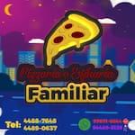 Logotipo Pizzaria Familiar