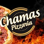 Logotipo Chamas Pizzaria