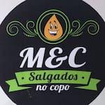 Logotipo M&c Salgados no Copo