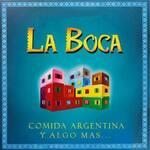 Logotipo La Boca Empanadas Argentinas Azcapo