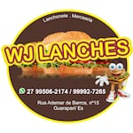 Logotipo Delivery Wj Lanches